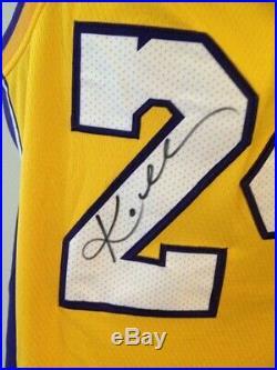 Maglia Autografata KOBE BRYANT LOS ANGELES Lakers Signed with COA certificate