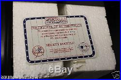 Mickey Mantle Signed Sports Impressions Switch Hitter figure with coa amd box
