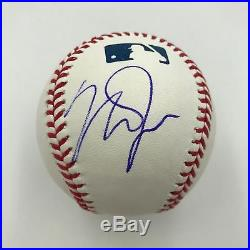 Mint Mike Trout Signed Autographed Official Major League Baseball With JSA COA