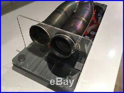 Motogp Casey Stoner Ducati Race Used Exhaust 2010 Very Rare Memorabilia With Coa