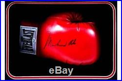 Muhammad Ali, George Foreman, Joe Frazier Autographed Boxing Gloves with COAs