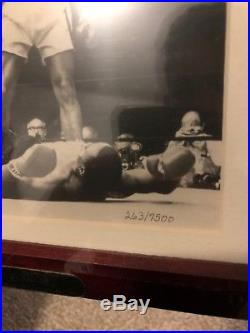 Muhammad Ali Signed Picture With Fossil Watch- COA original Packaging Limited