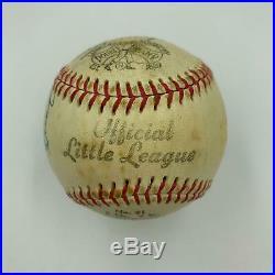 Nice Nellie Fox Signed Autographed Baseball With JSA COA
