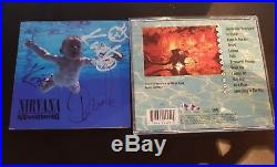 Nirvana Nevermind Hand Signed By 3 With Coa Kurt Cobain Dave Krist Autographed