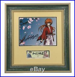 Nobuhiro Watsuki Rurouni Kenshin hand signed autograph photo with coa