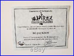 Oakland Raiders Bo Jackson signed 8x10 Framed Photo Football autograph with COA