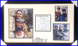 Only Fools And Horses Signed Presentation With COA