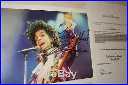 PRINCE lovely boldly signed 10 x 8 colour photo with COA