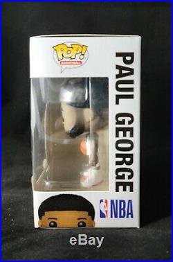 Paul George Autographed Signed NBA LA Clippers Funko Pop #57 with COA