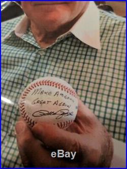 Pete Rose Make America Great Again Autograph Baseball With Photo And Coa