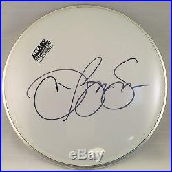 RARE Jon Bon Jovi Signed Drumhead With JSA COA Huge Autograph
