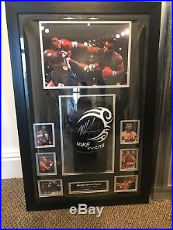 Rare Personally Hand Signed Mike Tyson Boxing Glove With Coa