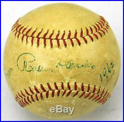 Rare Rogers Hornsby Signed Autographed Baseball With JSA COA