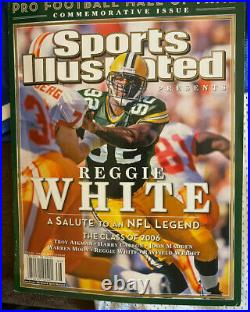 Reggie White NFC Pro Bowl autographed sports jersey with COA