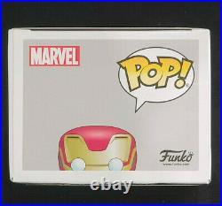 Robert Downey Jr. Signed Autographed Avengers Iron Man Funko Pop 285 with COA