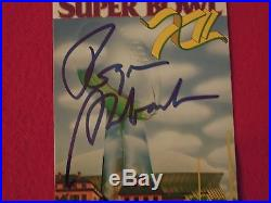 Roger Staubach Cowboys Autographed Super Bowl XII Authentic Ticket With JSA COA