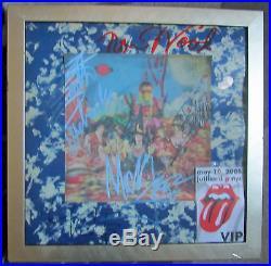 Rolling Stones Their Satanic Majesties Album Autographed With COA