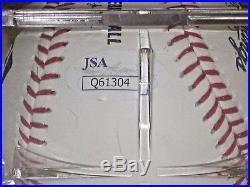 SHOHEI OHTANI OTANI Signed MLB Baseball JSA COA with Case Autographed Auto