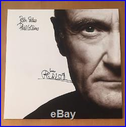 SIGNED PHIL COLLINS BOTH SIDES 12inch VINYL HAND SIGNED WITH COA RARE