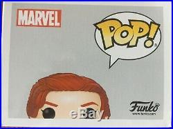 Scarlett Johansson Black Widow Signed Funko Pop With Coa
