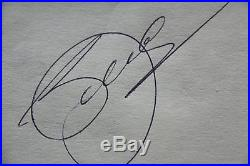 Seve Balesteros Hand signed autograph 100% Genuine with COA