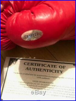 Signed/Autographed Muhammad Ali aka Cassius Clay Boxing Glove with COA