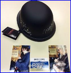 Soa Replica Motorcycle Helmet Signed By Chibs & Bobby Munson With Coa & Poa