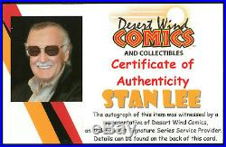 Stan Lee Meets Hardcover signed by Stan Lee with COA Spider-Man