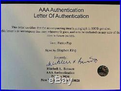 Stephen King Hand Signed Funko With COA RARE
