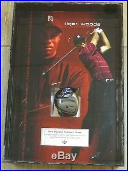 TIGER WOODS Golf Star Signed Autographed Nike Driver Head with Upper Deck's COA