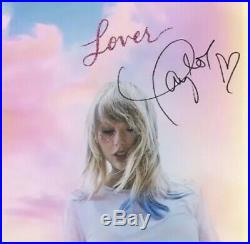Taylor Swift Signed Lover Booklet autograph RARE With COA
