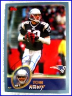 Tom Brady 2004 Upper Deck Auto Autographed Card#mm13 With Coa-patriots Qb Auto