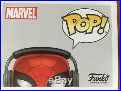 Tom Holland Spiderman Signed Funko Pop With Coa