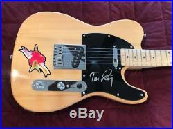 Tom Petty autographed guitar signed Hungtington Telecaster with COA