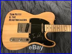Tom Petty signed guitar autographed soft case included with COA