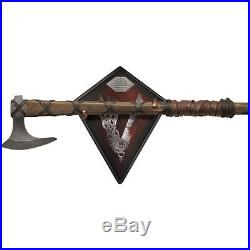 Vikings Axe Ragnar Lothbrok Series Prop 25 with Plaque and COA Collectible