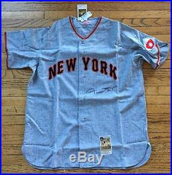 WILLIE MAYS autographed 1951 Road JERSEY with GAI COA and Say Hey  AUTHENTICATED 1882c1d2e