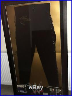 WWE The Undertaker Autographed Signed Ring Worn Gear # 1 With Photo Proof & COA