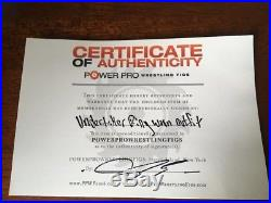 WWE WWF The Undertaker Worn Signed Autographed Ring Gear With Photo Proof COA