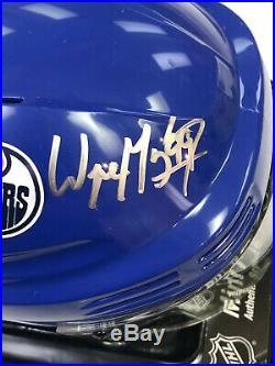 Wayne Gretzky Autographed Signed Edmonton Oilers Mini Helmet with COA