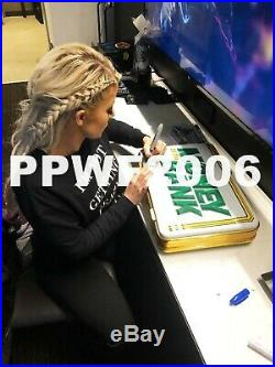 Wwe Alexa Bliss And Carmella Hand Signed Mitb Briefcase With Proof And Coa 1/1