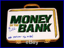Wwe Carmella Money In The Bank Hand Signed Autographed Briefcase With Proof Coa