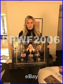 Wwe Charlotte Flair First Ever Plaque Hand Signed With Picture Proof And Coa