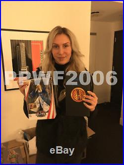 Wwe Charlotte Flair Hand Signed Womens Belt & Nameplate Box With Pic Proof Coa 2