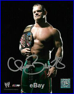 Wwe Chris Benoit Hand Signed Autographed 8x10 Licensed Photo With Coa Rare 4