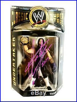 Wwe Classic 1 The Undertaker Hand Signed Autographed Toy Action Figure With Coa