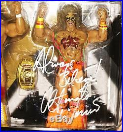 Wwe Classic Superstars Ultimate Warrior Hand Signed Autographed 2 Pack With Coa