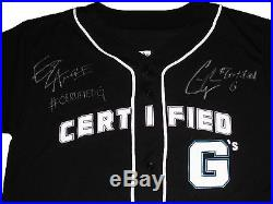 Wwe Enzo & Big Cass Certified G Hand Signed Jersey With Exact Picture Proof Coa