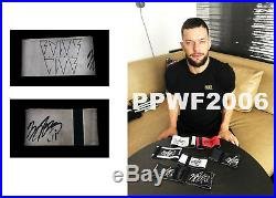 Wwe Finn Balor Hand Signed Ring Worn Armband With Exact Picture Proof Coa 5