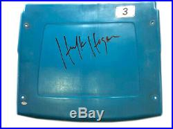 Wwe Hulk Hogan Hand Signed Autographed Seat Back From The Silverdome With Coa